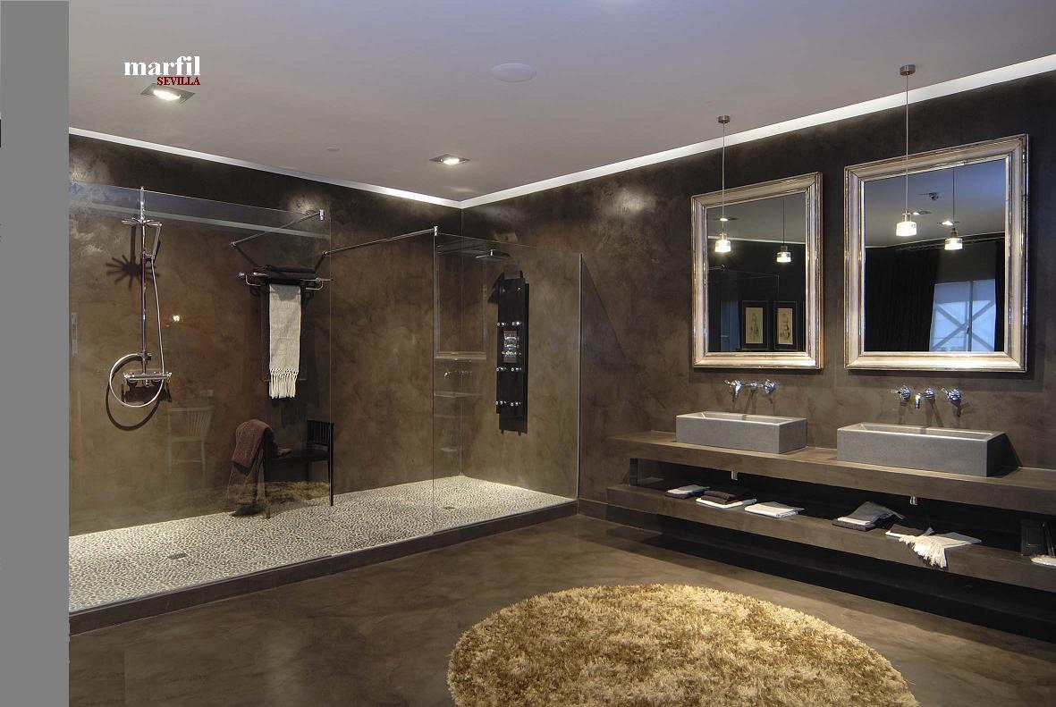 Baño Microcemento Alisado:baño microcemento